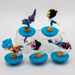 FIGS071 – Dragon Ball Dĩa Bay Xanh 5pcs 02 – 2