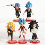 FIGS099 – Dragon Ball 5pcs – 3 Tóc xanh – 1