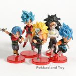 FIGS099 – Dragon Ball 5pcs – 3 Tóc xanh – 3