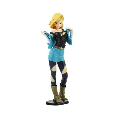 FIG033 – Android 18 – Poc – Vay Xanh Bien – Glitter_Glamour – 1