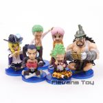 FIGS067 – One Piece WCF 6pcs – 2 Toc Xanh La – 1