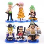 FIGS067 – One Piece WCF 6pcs – 2 Toc Xanh La – 2