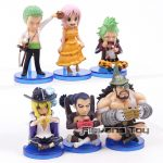 FIGS067 – One Piece WCF 6pcs – 2 Toc Xanh La – 3