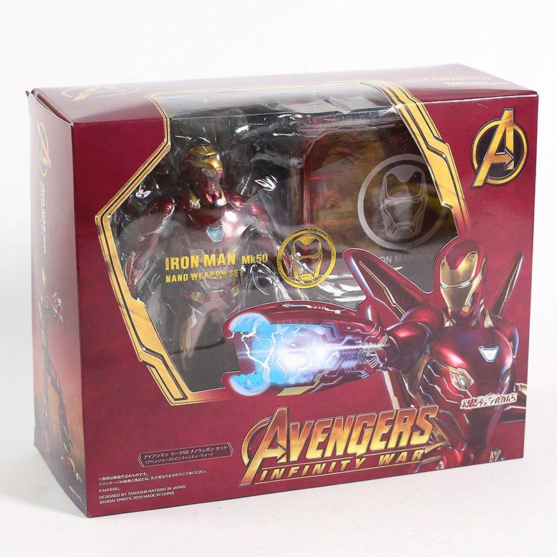 FIGM013 – Iron Man MK50 – Nano Weapon Set – 7