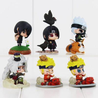 FIGS014 – Naruto 6pcs 06 – Itachi n 2 Qua – 6