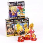 FIGS065 – Son Goku 5pcs – Toc hong – 1