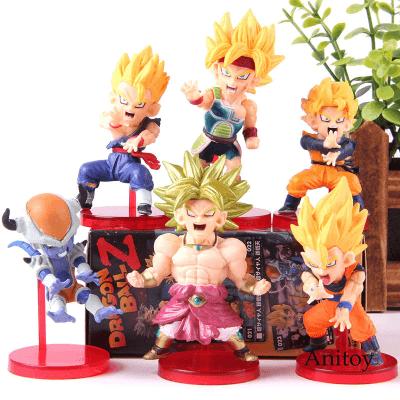 FIGS081 – Dragon Ball 6pcs – Battle of Saiyan Vol. 4 – 1