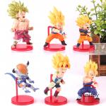 FIGS081 – Dragon Ball 6pcs – Battle of Saiyan Vol. 4 – 5